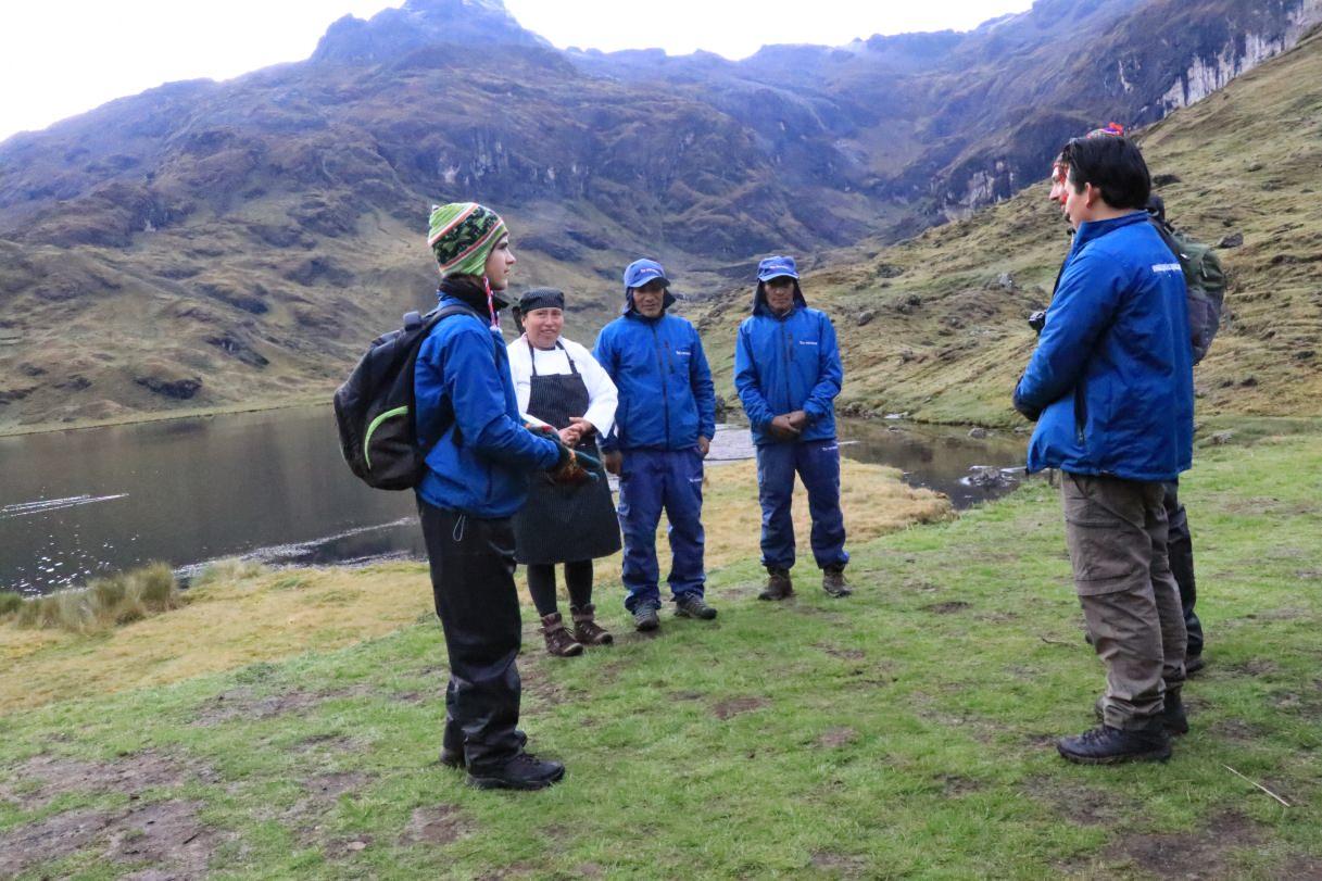 Ultimate Trekking staff
